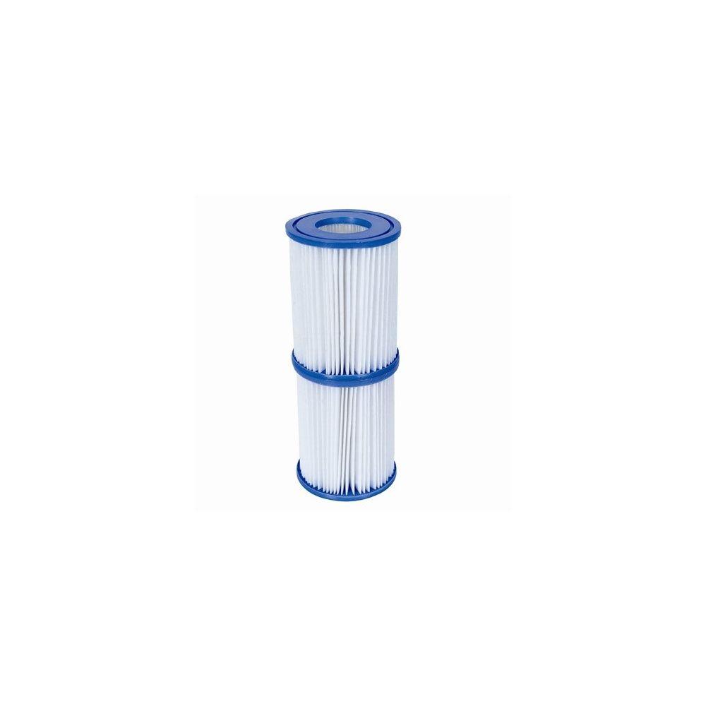 Lot de 2 filtres de remplacement pour spas lay z et for Filtre pour piscine bestway