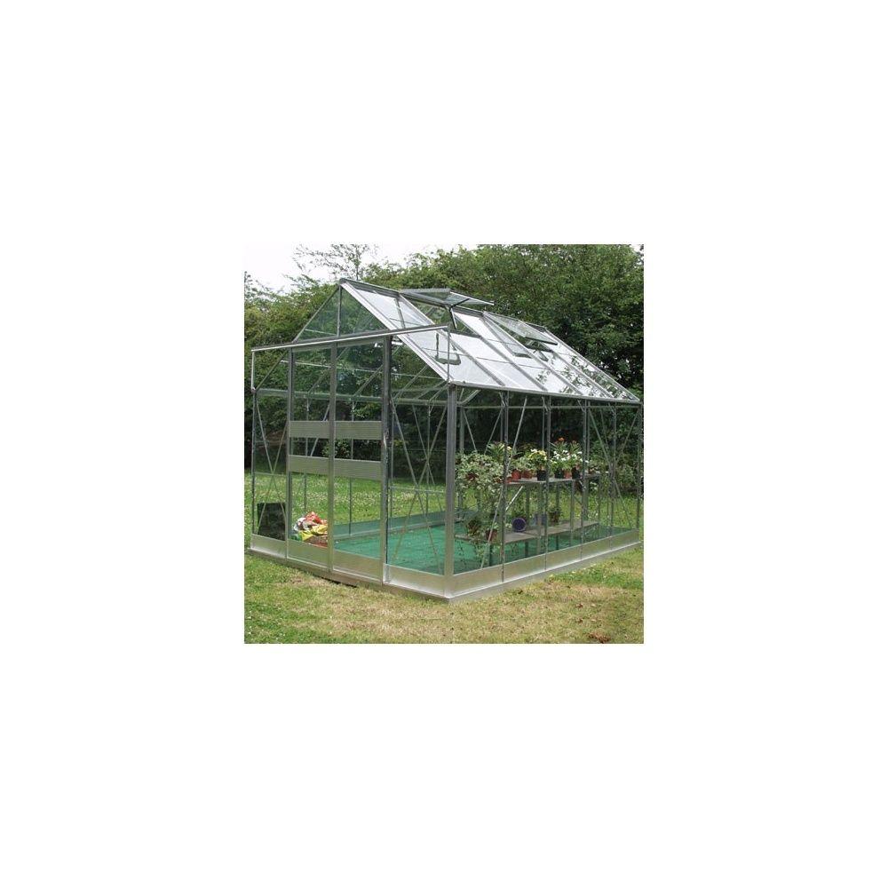 Serre de jardin highline verre trempé 11,30m²   eden   plantes et ...