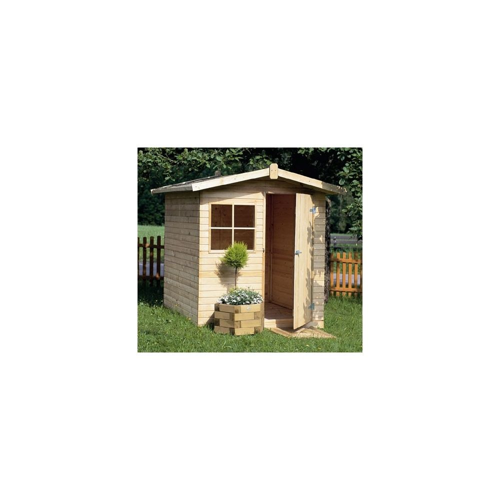 Abri de jardin p tunia 3 3 m bois 14 mm autoclave for Abri jardin autoclave