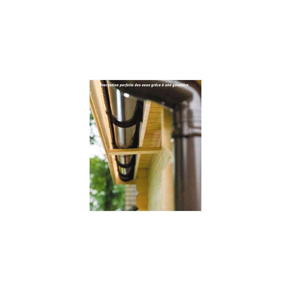 goutti re pour abris toit plat universo plantes et jardins. Black Bedroom Furniture Sets. Home Design Ideas
