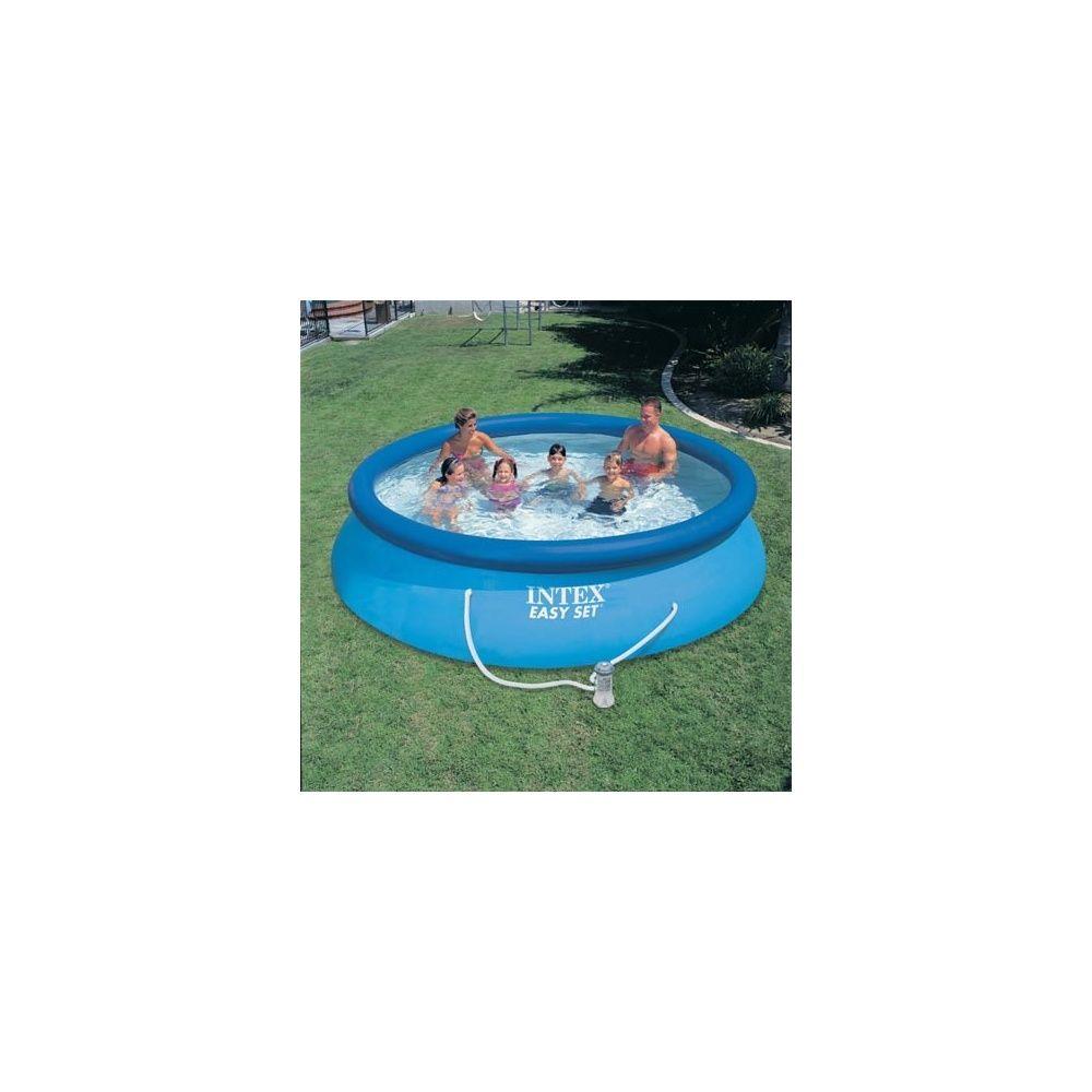Kit piscine autoportante easy set intex d m x h 0 - Piscine autoportante intex easy set ...