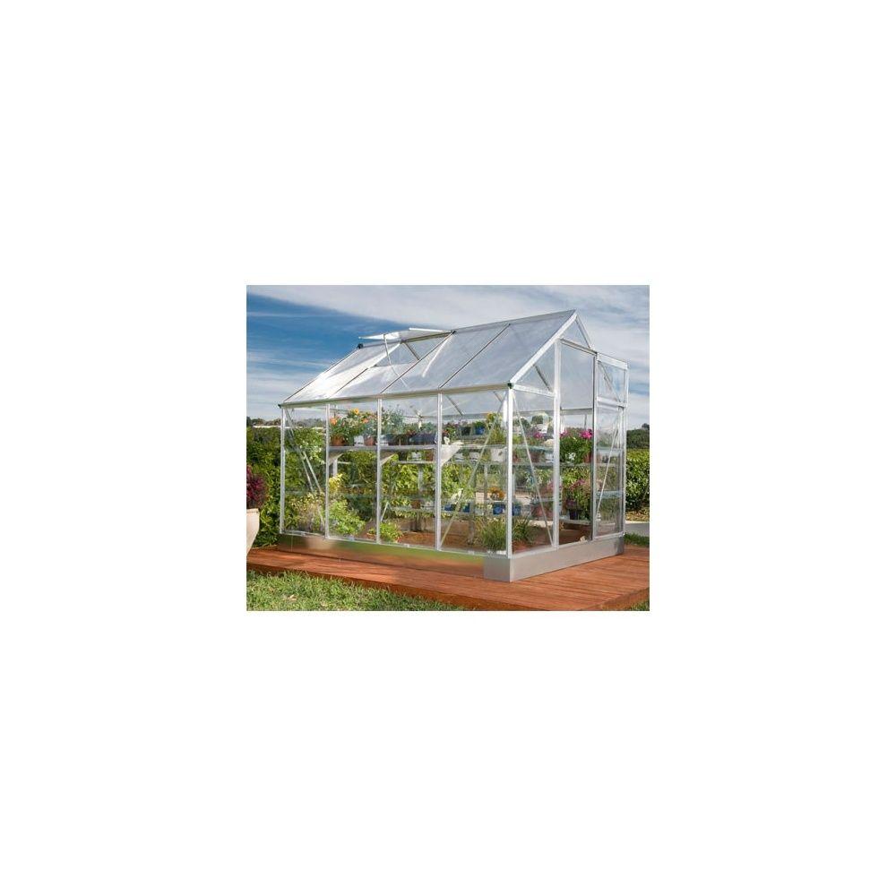serre de jardin en polycarbonate transparent 5m embase. Black Bedroom Furniture Sets. Home Design Ideas