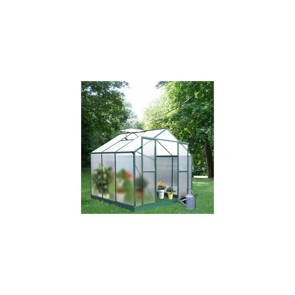serre de jardin 4 46m myosotis en polycarbonate lams plantes et jardins. Black Bedroom Furniture Sets. Home Design Ideas