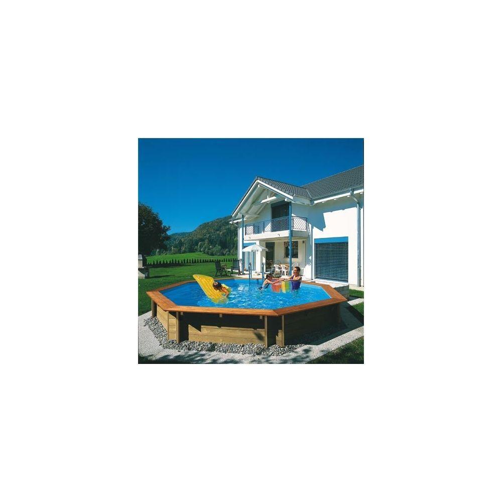 piscine bois odyssea octo cerland d x h margelle ip exc lia plantes et jardins. Black Bedroom Furniture Sets. Home Design Ideas