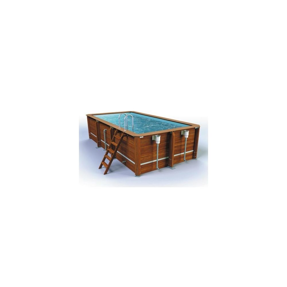piscine bois osyssea pro cerland x margelle ip exc lia plantes et jardins. Black Bedroom Furniture Sets. Home Design Ideas
