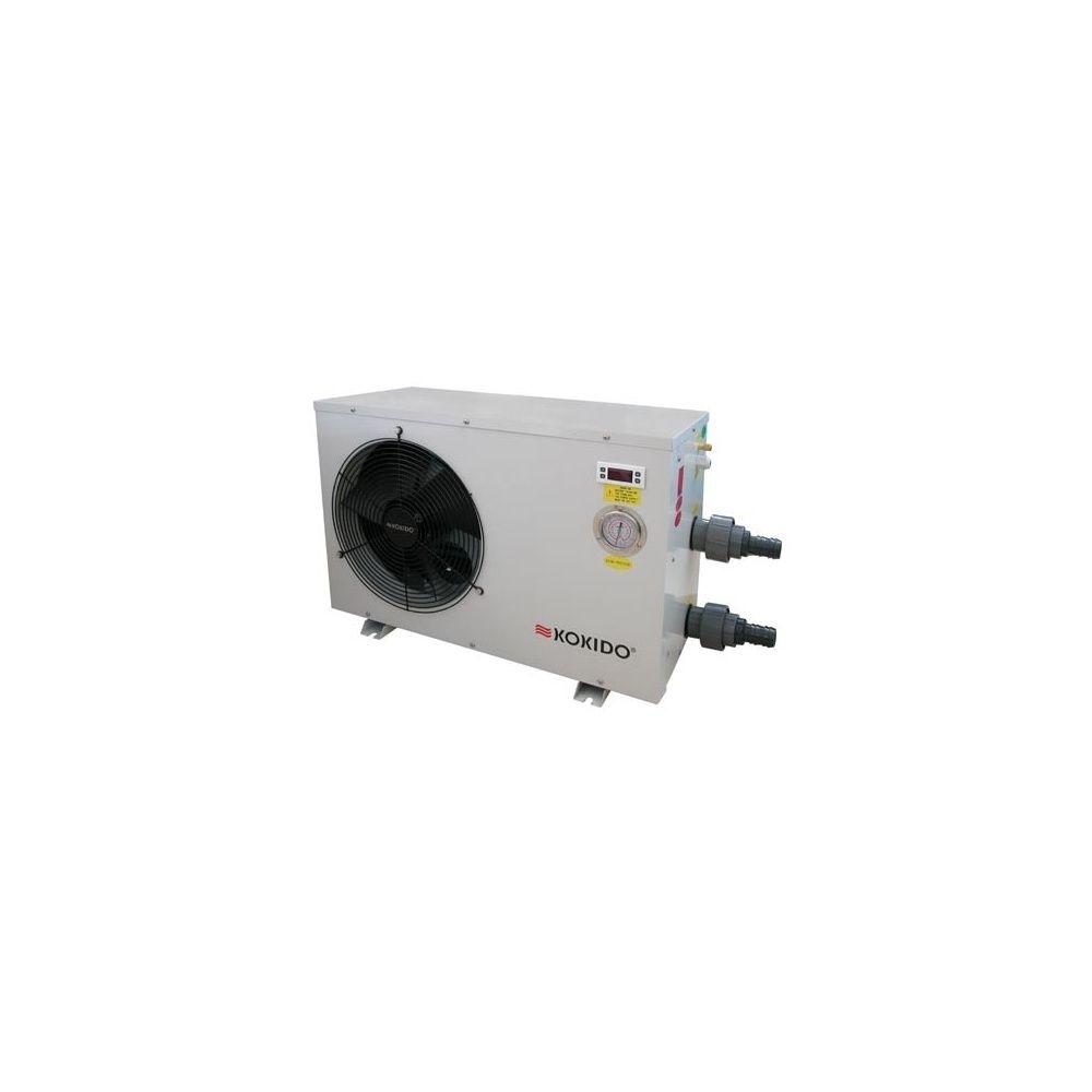 Pompe chaleur 1 3 cv 6 5 kw pour piscine jusqu 45m 3 for Pompe a chaleur piscine 6kw