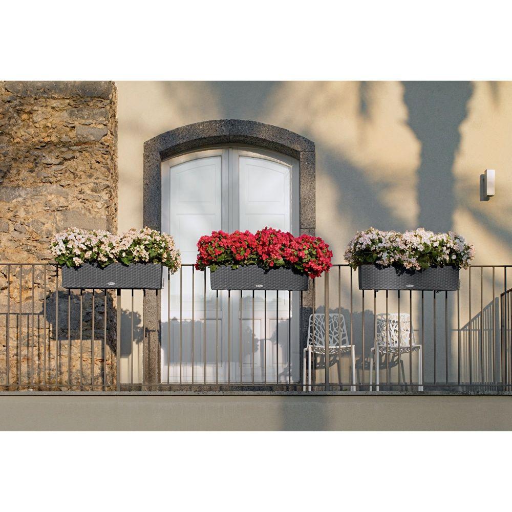 jardini re lechuza balconera cottage l80 h19 cm granit. Black Bedroom Furniture Sets. Home Design Ideas
