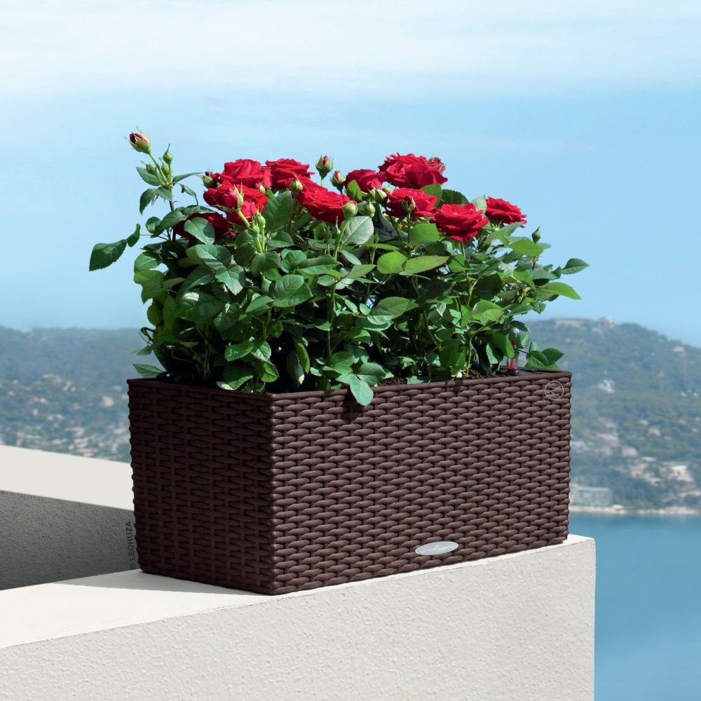 Jardini re lechuza balconera cottage l50 h19 cm mocca for Jardin isere