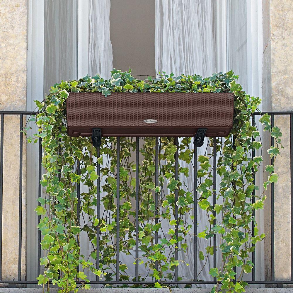 jardini re lechuza balconera cottage l80 h19 cm mocca. Black Bedroom Furniture Sets. Home Design Ideas