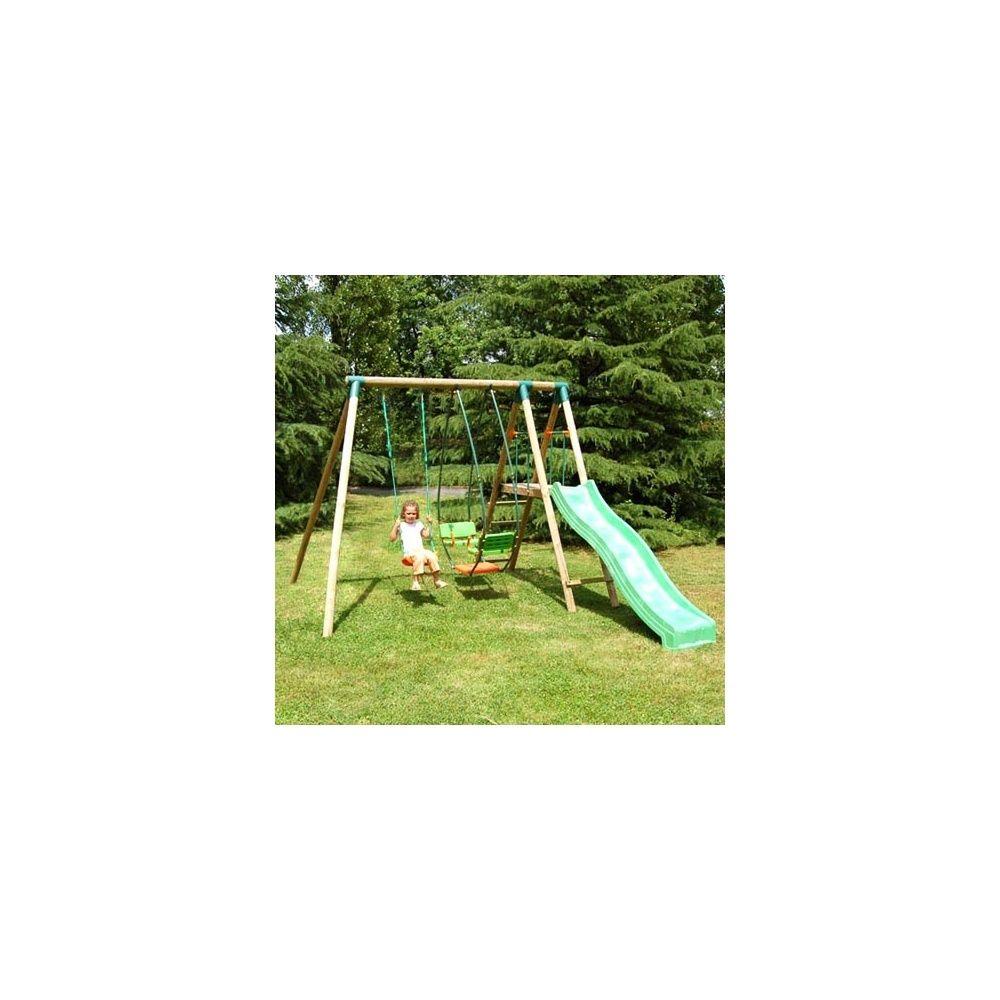 portique bois grizzly soulet 1 jeu de croquet plantes et jardins. Black Bedroom Furniture Sets. Home Design Ideas