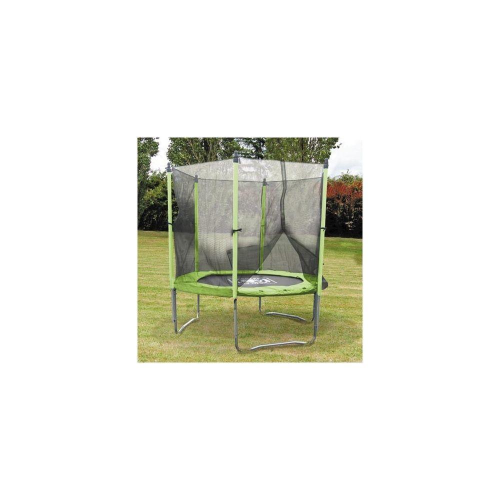 Trampoline 244 cm protection soulet plantes et jardins - Protection trampoline 244 ...
