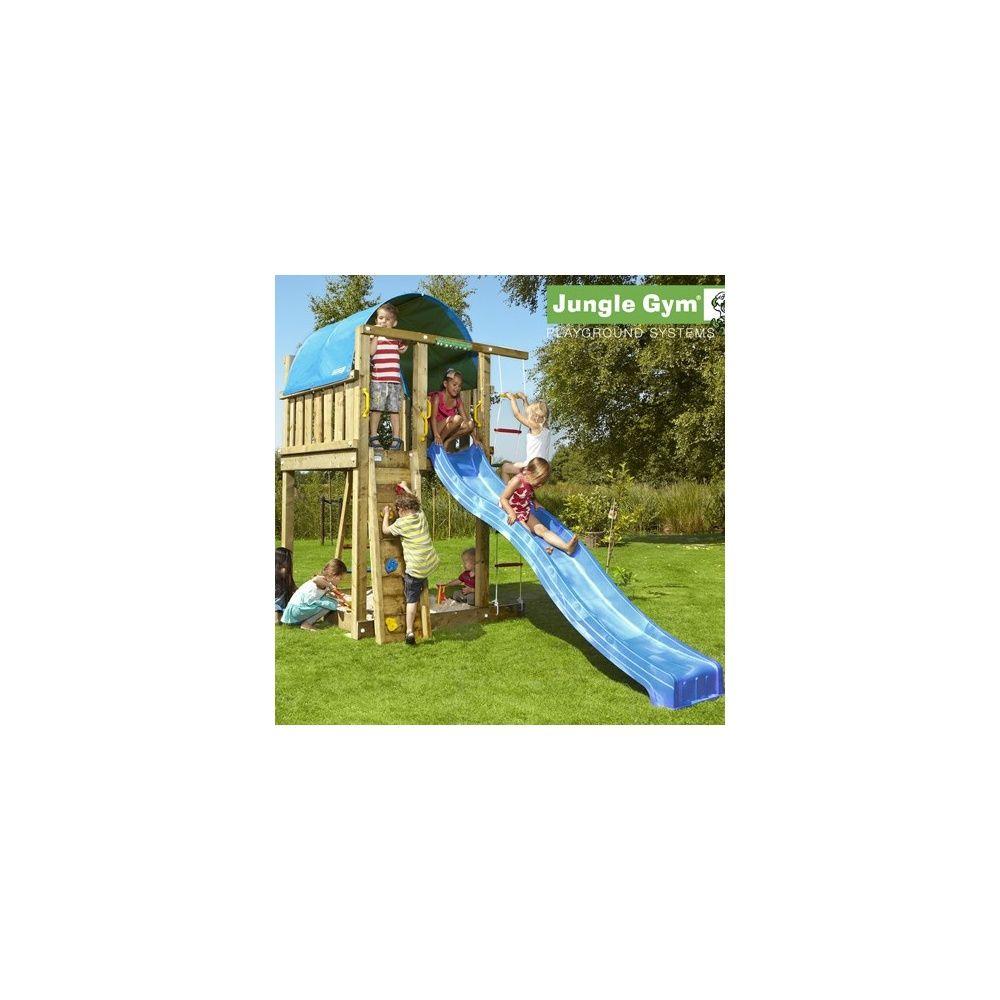 tour de jeux bois pour enfant jungle gym villa sans toboggan plantes et jardins. Black Bedroom Furniture Sets. Home Design Ideas