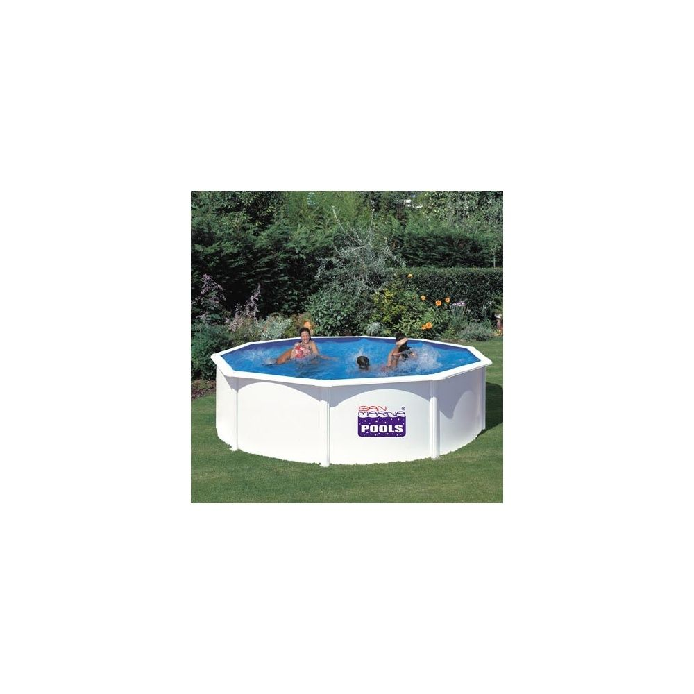 Kit piscine acier san marina 350 x h 120cm gr for Kit piscine acier