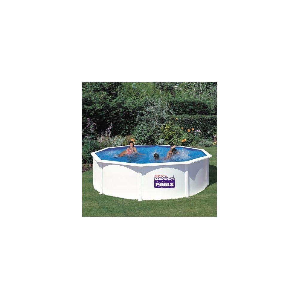 Kit piscine acier san marina 460 x h 120cm gr for Kit piscine acier