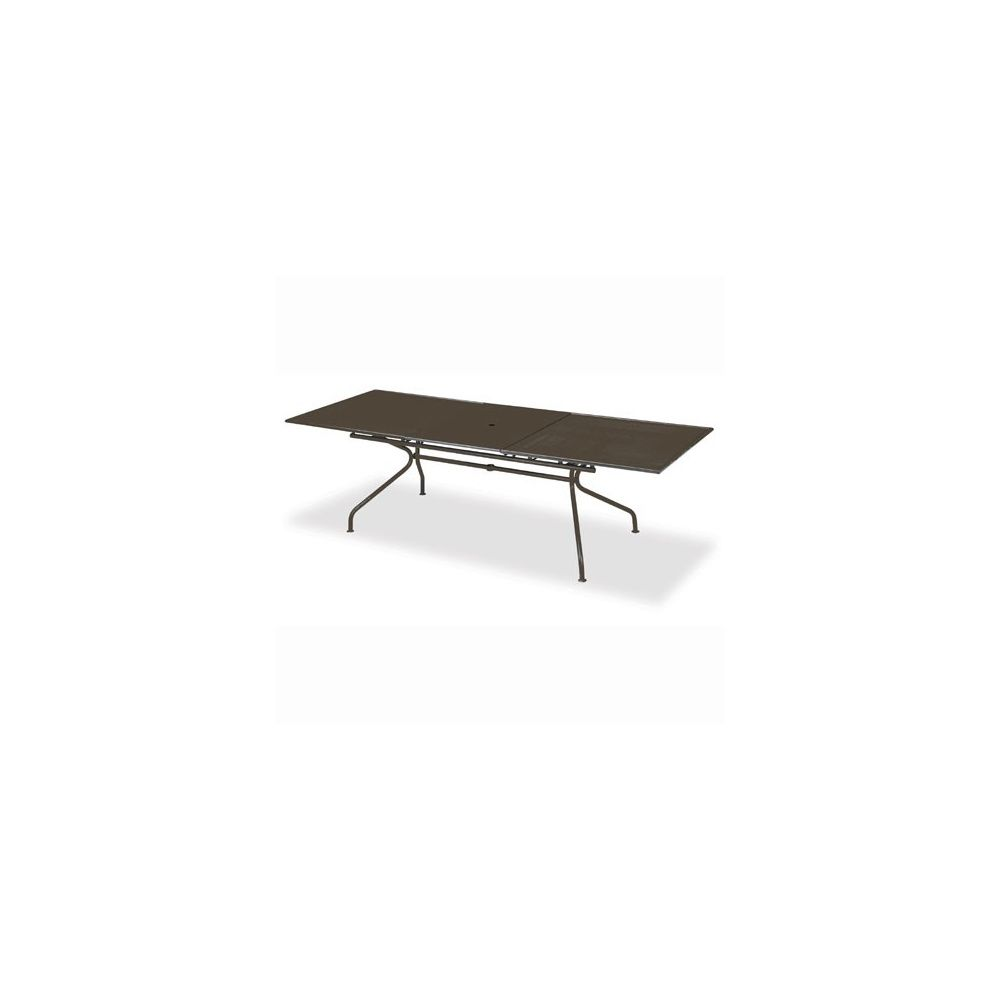 Table piano extensible 200 70 x 100 x 75 cm m tal for Table extensible 75 x 75