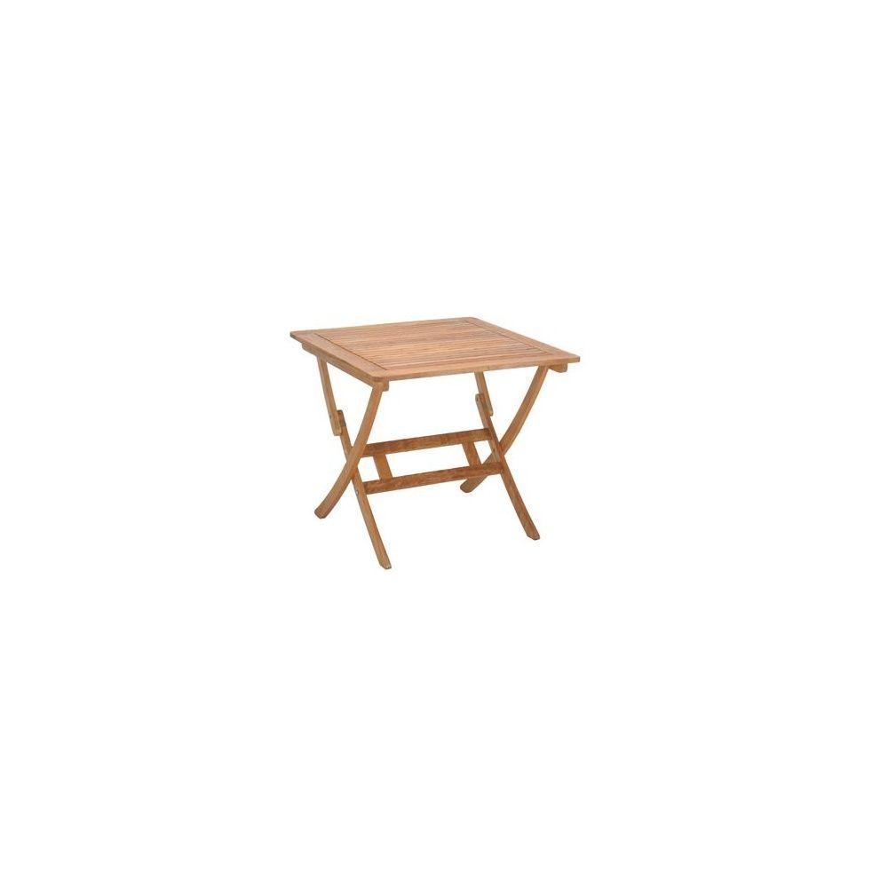 table pliable en bois exotique lake sylva plantes et jardins. Black Bedroom Furniture Sets. Home Design Ideas