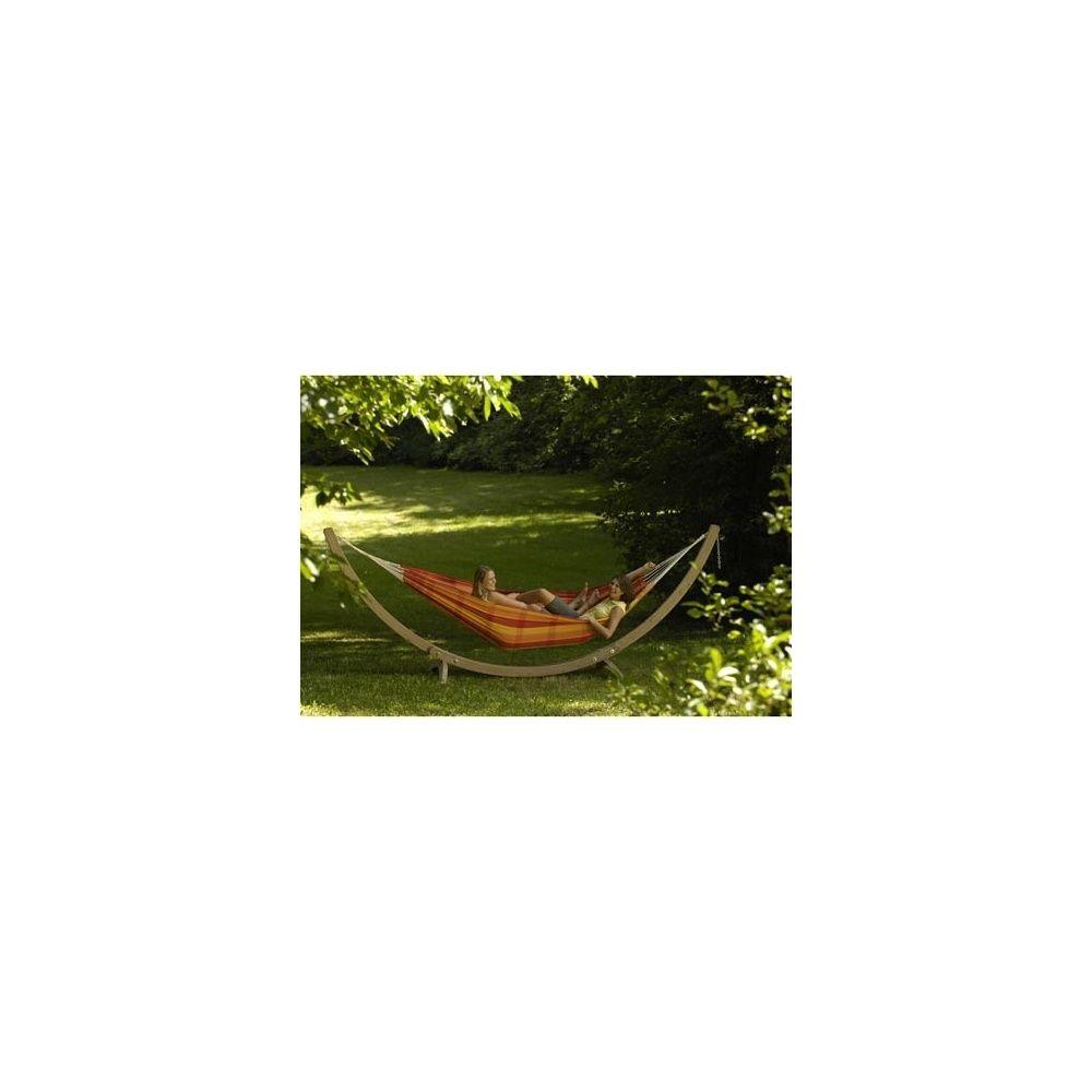 hamac 39 barbados papaya 39 2 personnes 230x150 cm plantes et jardins. Black Bedroom Furniture Sets. Home Design Ideas