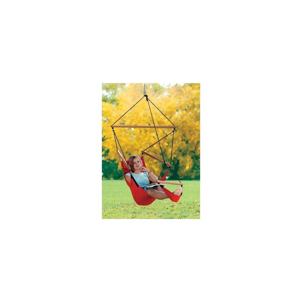 balancelle swinger rouge repose pieds plantes et jardins. Black Bedroom Furniture Sets. Home Design Ideas