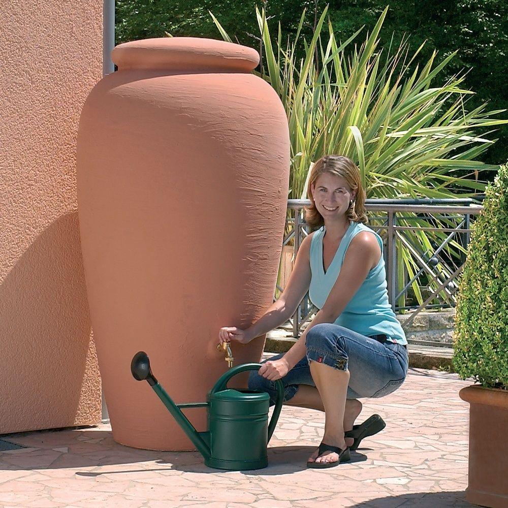 Récupérateur d'eau mural Amphore 500L