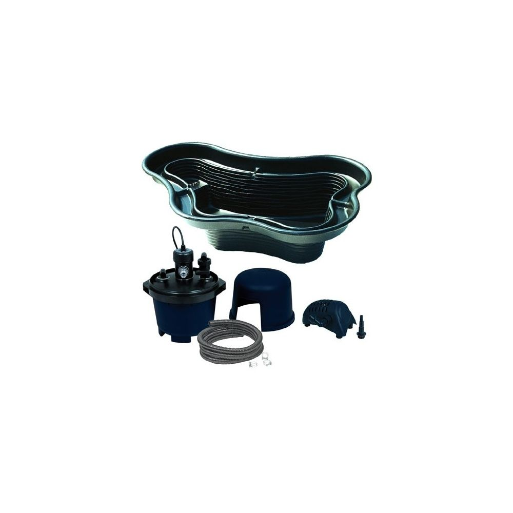 Kit bassin 1400l ubbink avec bassin pompe filtration tuyau plantes et jardins - Pompe et filtration pour bassin ...
