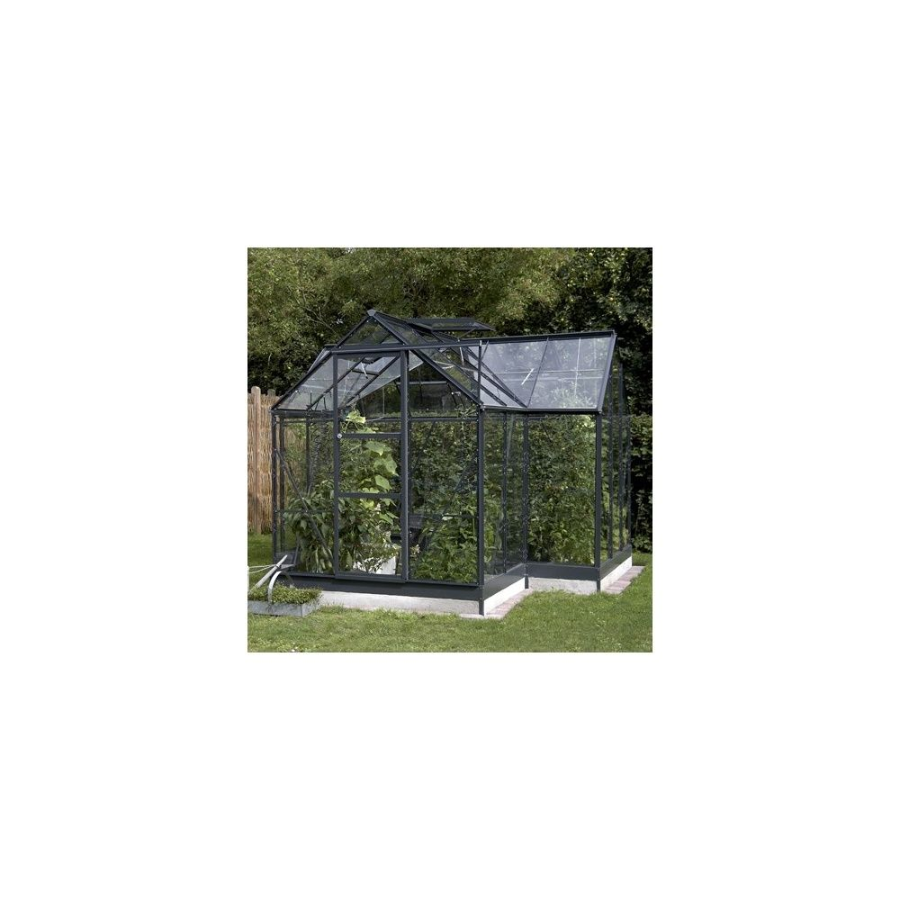 serre orangerie en verre tremp et alu 8 6m eden plantes et jardins. Black Bedroom Furniture Sets. Home Design Ideas