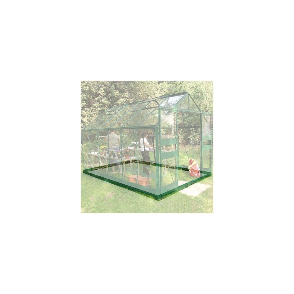 Embase Pour Serre De Jardin Supreme Verte 11 40m Halls Plantes Et Jardins