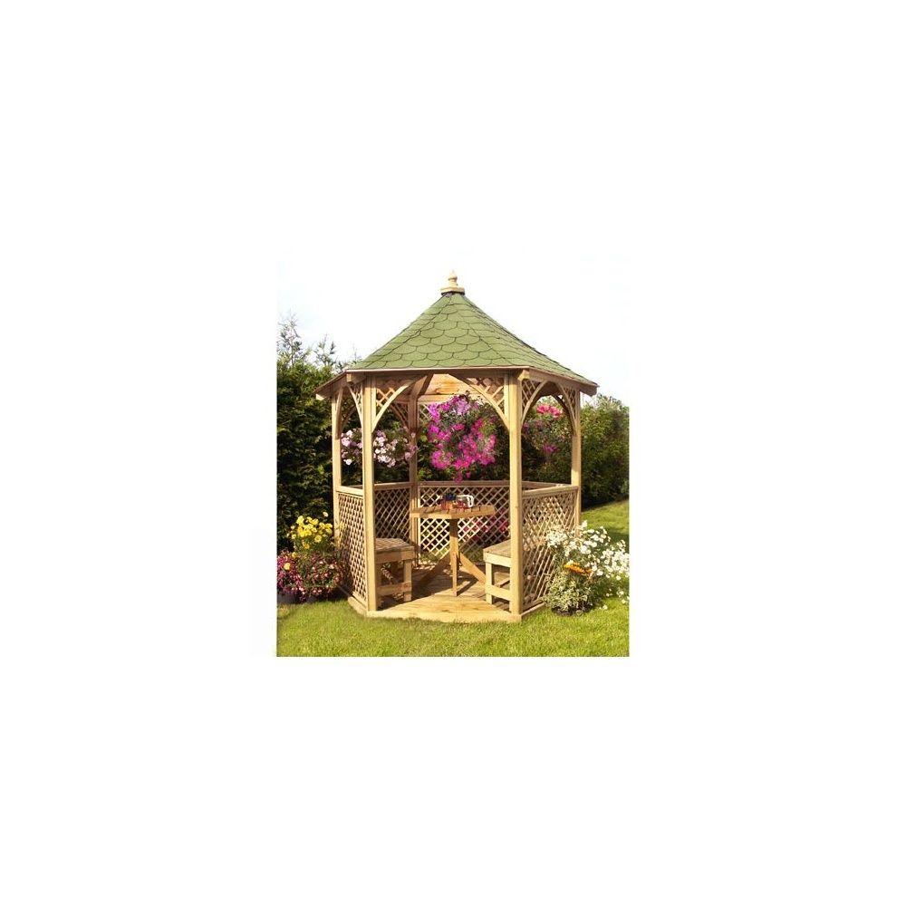 Kiosque De Jardin Vivaldi Bois Pefc Jagram Plantes Et Jardins