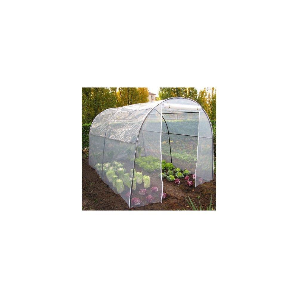 serre de culture tunnel 6m armature renforc e et film 200 microns plantes et jardins. Black Bedroom Furniture Sets. Home Design Ideas