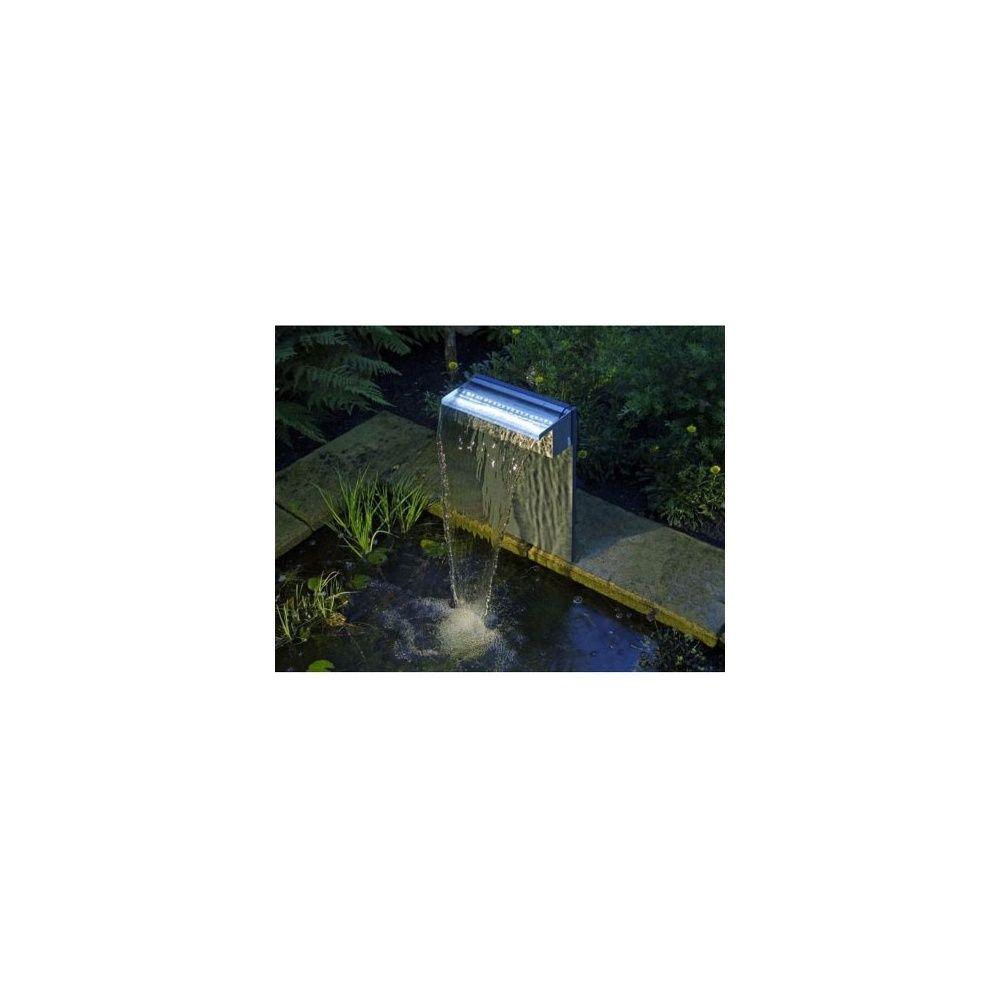 Set niagara 30 avec led cascade pompe bassin for Pompe cascade