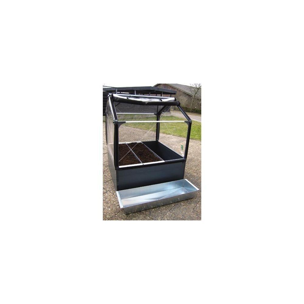 Jardini re en acier galvanis growtrough standard pour for Bordurette acier pour jardin