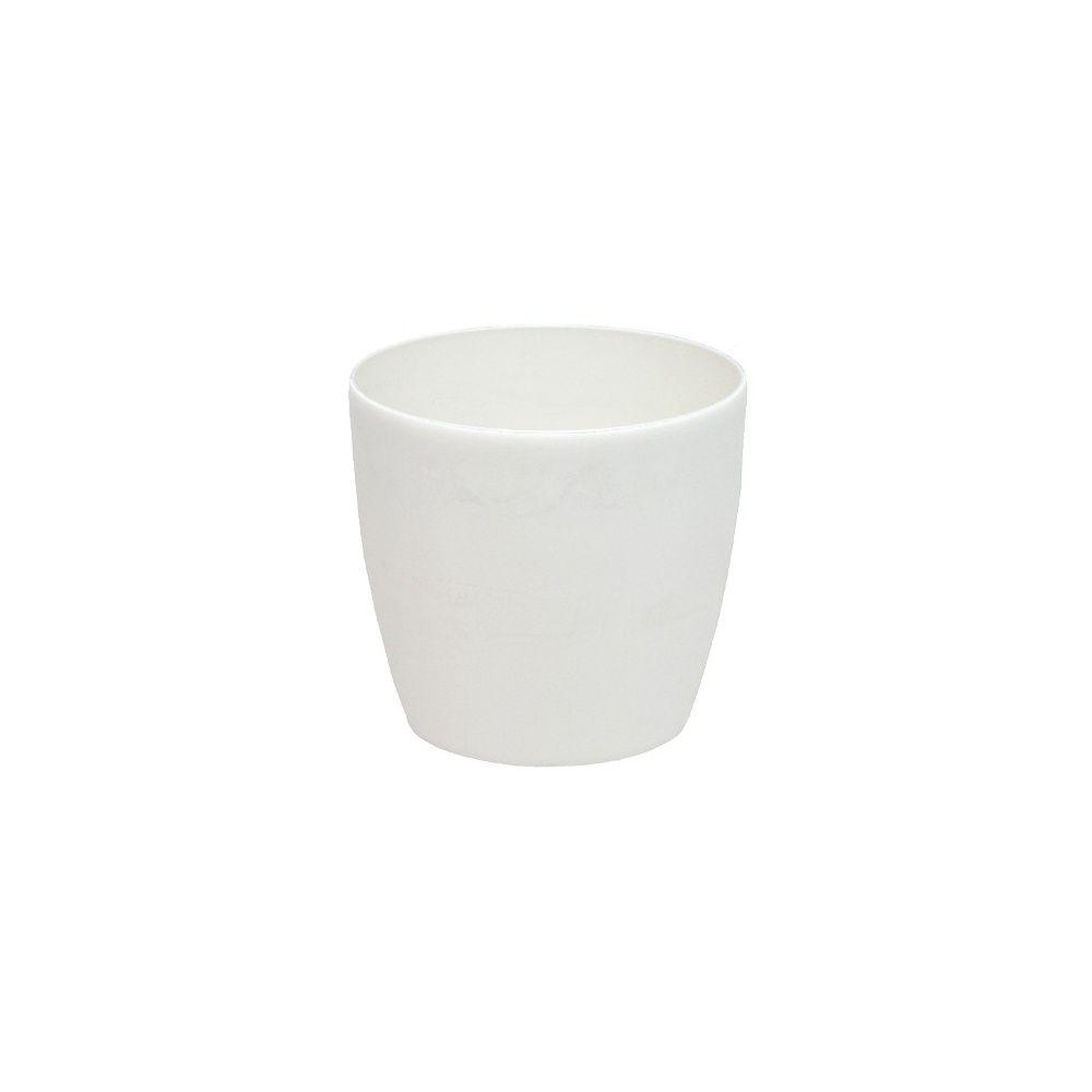 option cache pot brussels blanc diam tre 32 cm plantes. Black Bedroom Furniture Sets. Home Design Ideas