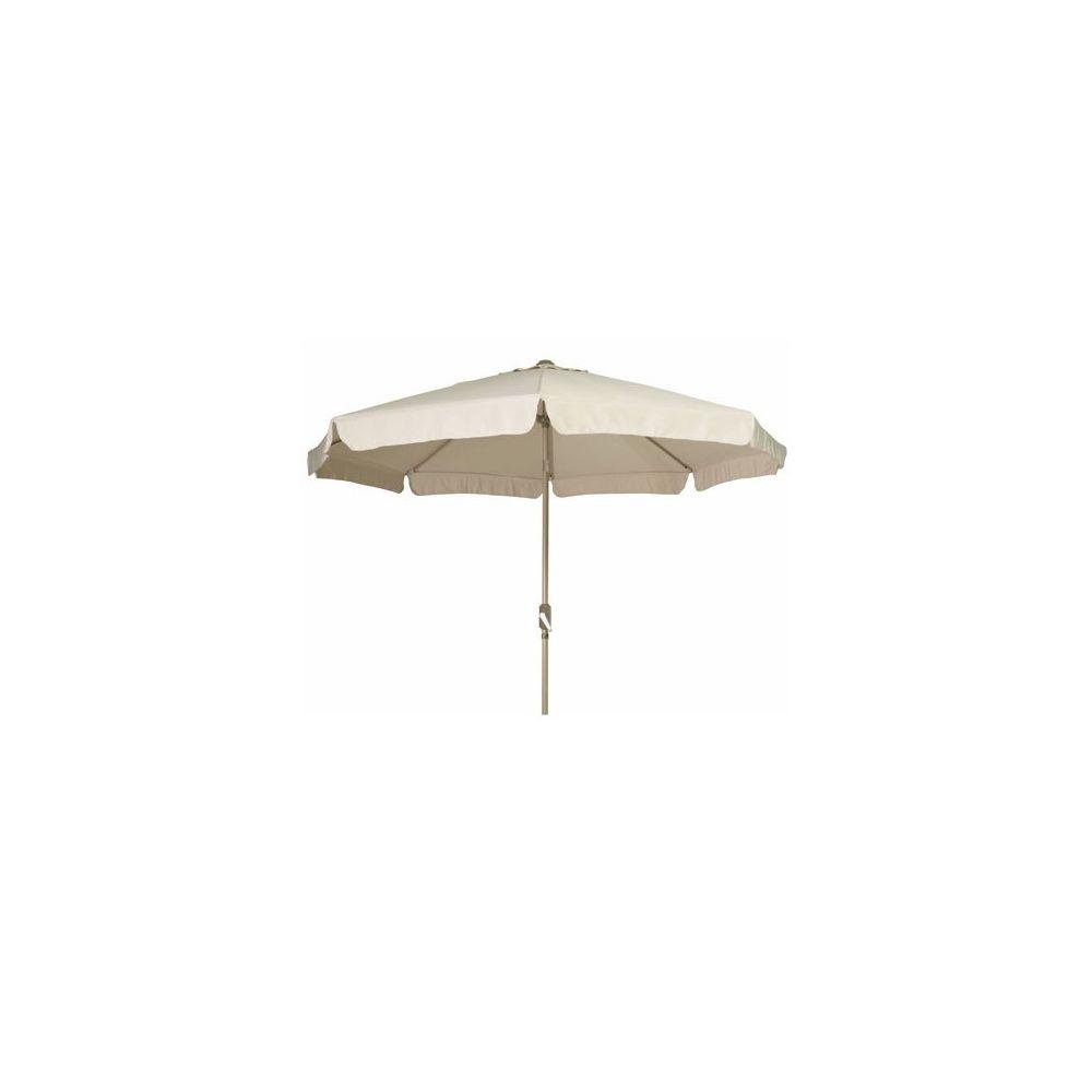parasol droit aluminium d 2 8 ecru plantes et jardins. Black Bedroom Furniture Sets. Home Design Ideas