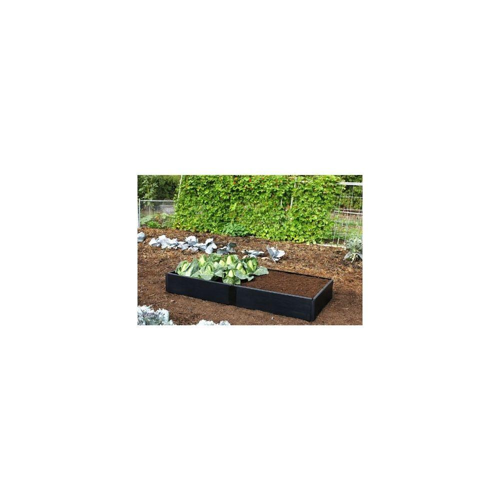 extension pour potager carr en plastique recycl plantes et jardins. Black Bedroom Furniture Sets. Home Design Ideas