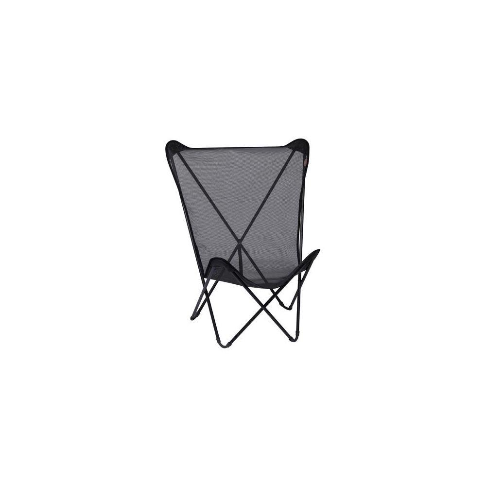 fauteuil pliant 39 noir 39 maxi pop up lafuma plantes et jardins. Black Bedroom Furniture Sets. Home Design Ideas