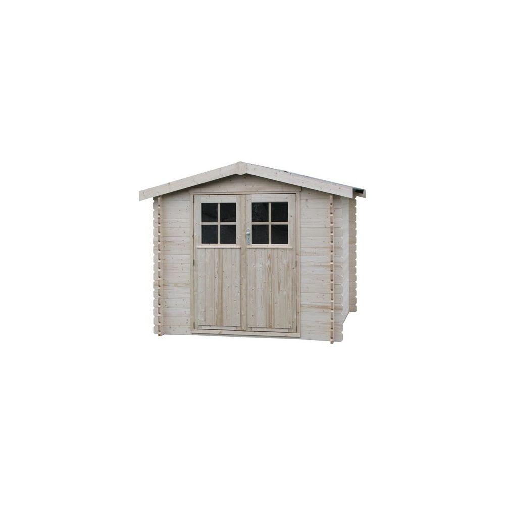 abri de jardin odin 5 43 m2 bois massif 28 mm plantes et jardins. Black Bedroom Furniture Sets. Home Design Ideas