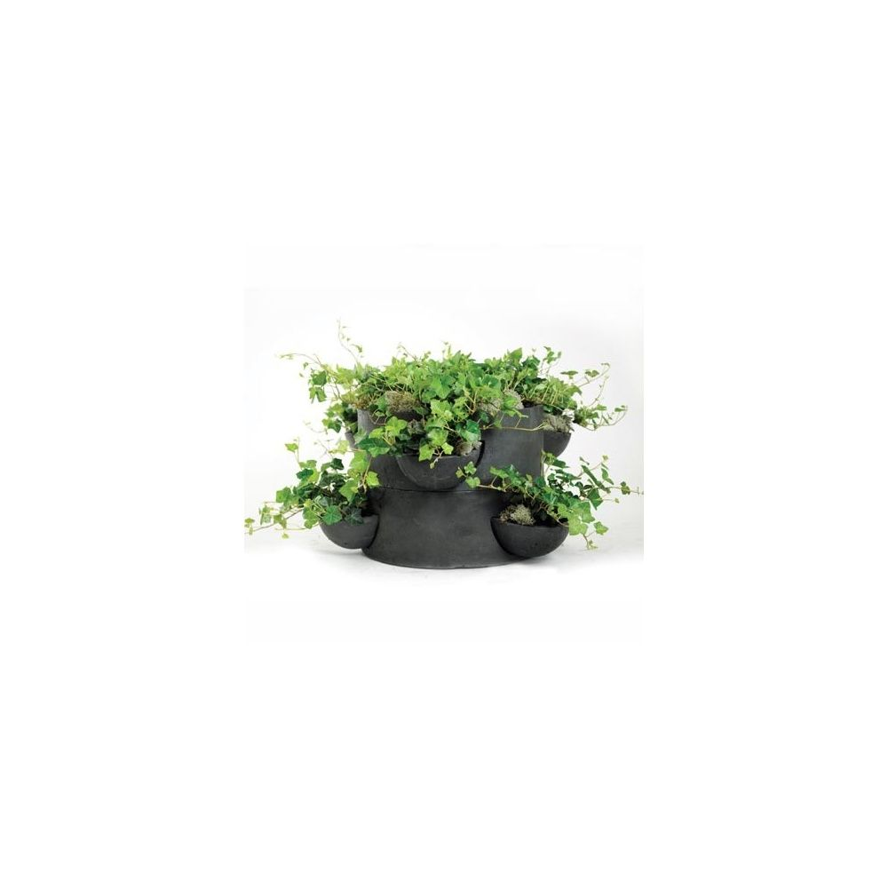 pot pour jardin vertical 1 module d 50 x h 20cm fibre de terre plantes et jardins. Black Bedroom Furniture Sets. Home Design Ideas