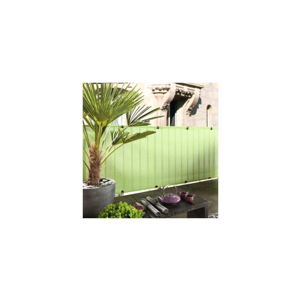 brise vue everly green pour cl ture et occultation h 1m x l 5m vert intermas celloplast. Black Bedroom Furniture Sets. Home Design Ideas