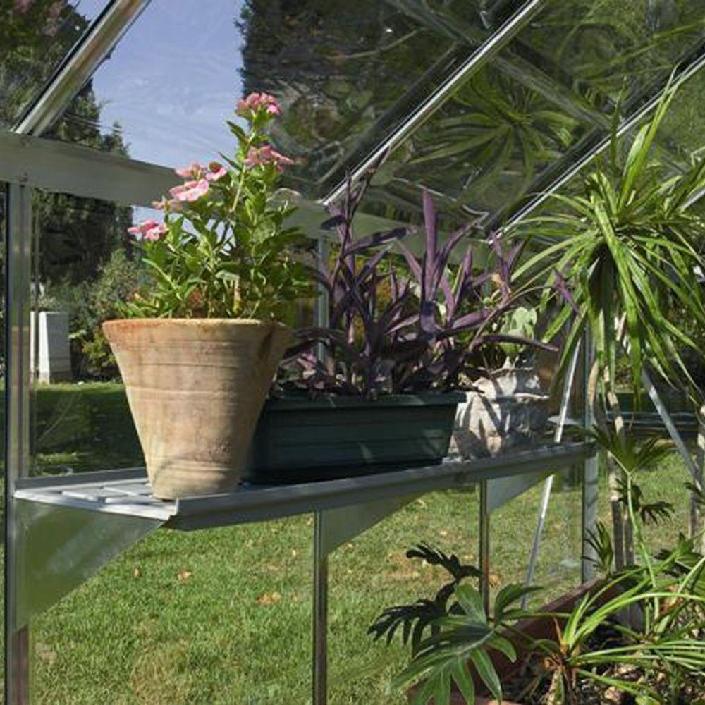 Etag re l125 cm pour serre palram plantes et jardins - Etagere pour plantes interieures ...