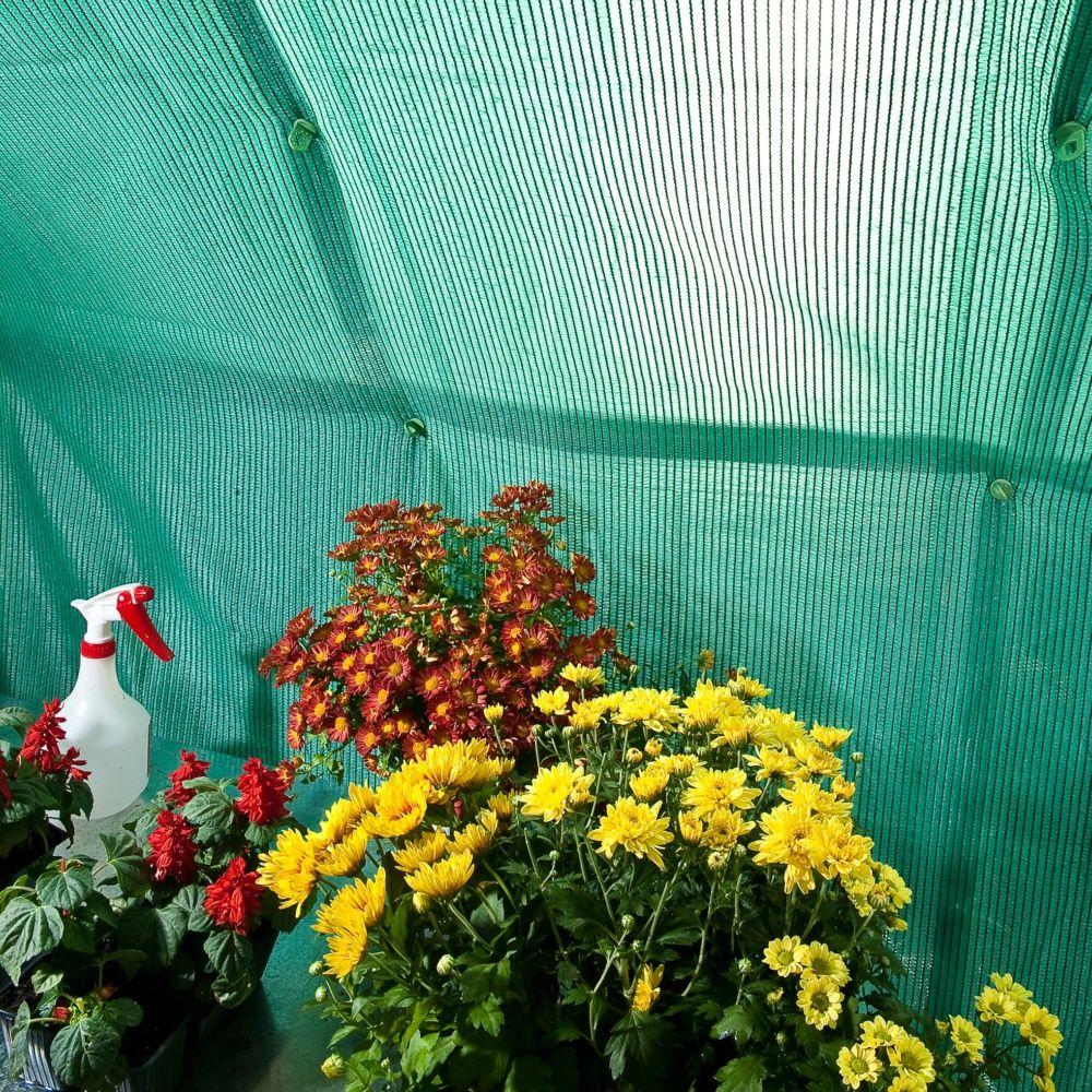 Toile d 39 ombrage pour serres palram plantes et jardins for Plantes et jardins serres