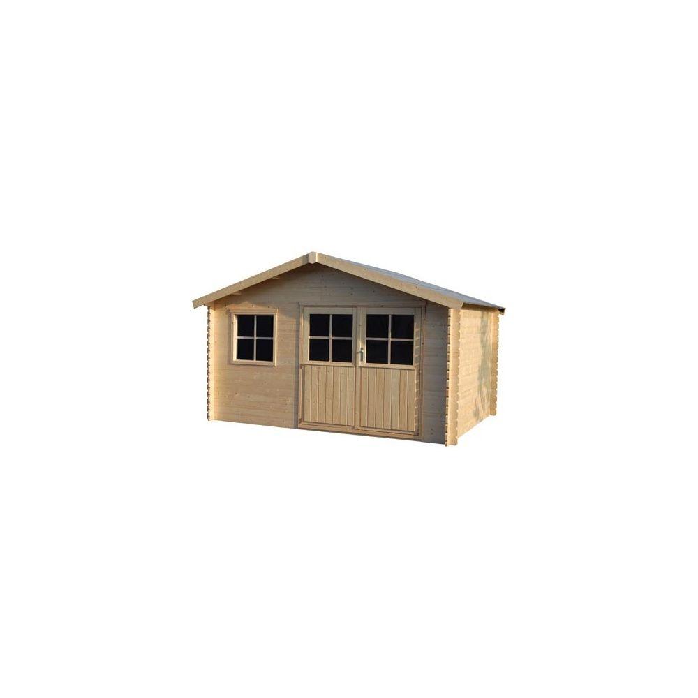 abri de jardin flodeal 12 90 m hors tout bois 28 mm pefc plantes et jardins. Black Bedroom Furniture Sets. Home Design Ideas