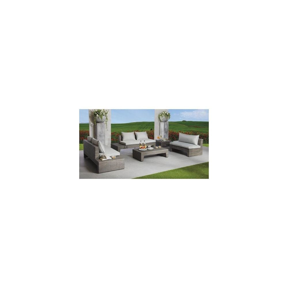 Salon de jardin en aluminium en solde - Salon jardin resine solde ...