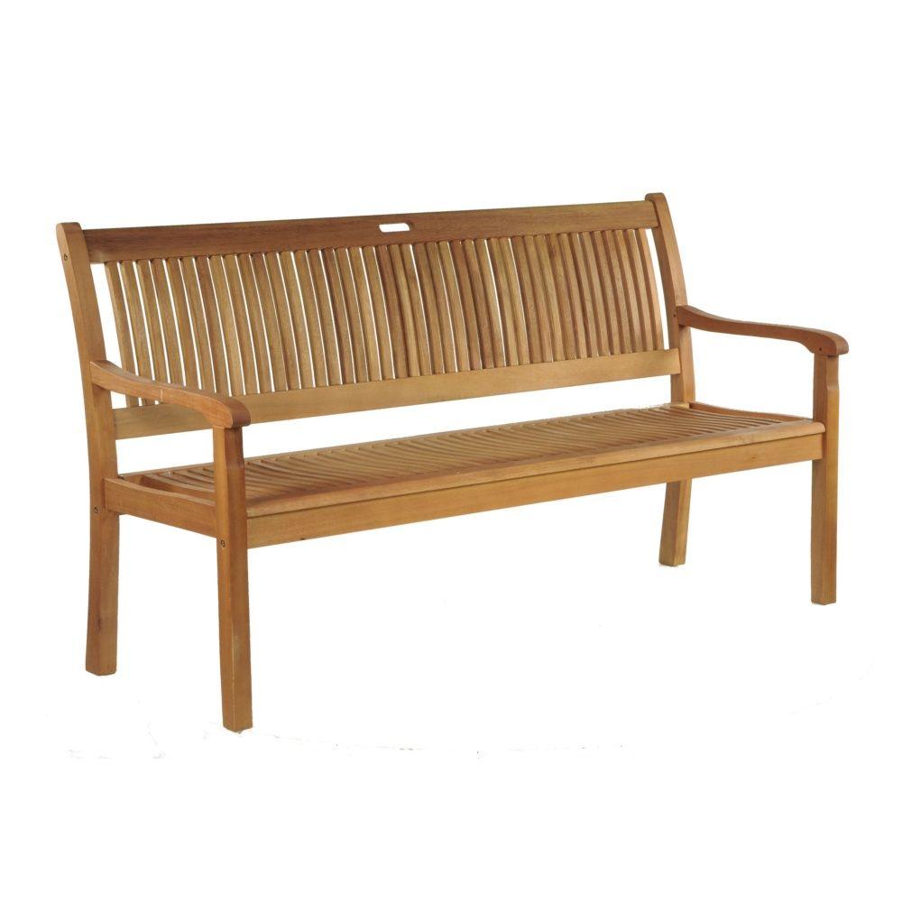 banc amad o bois l158 cm plantes et jardins. Black Bedroom Furniture Sets. Home Design Ideas