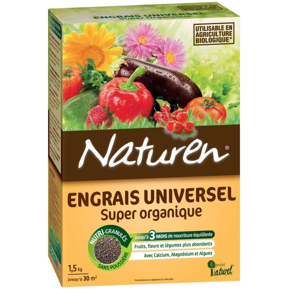 Engrais universel 1 5 kg pour 30 m naturen plantes et for Engrais 10 10 10