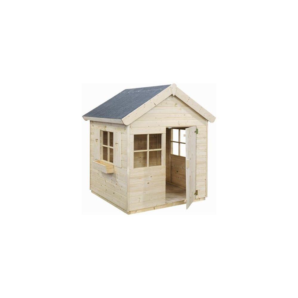 maisonnette en bois pour enfants jabiru jardipolys plantes et jardins. Black Bedroom Furniture Sets. Home Design Ideas