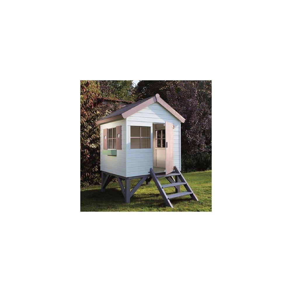 maisonnette en bois sur pilotis pour enfants jabiru jardipolys plantes et jardins. Black Bedroom Furniture Sets. Home Design Ideas