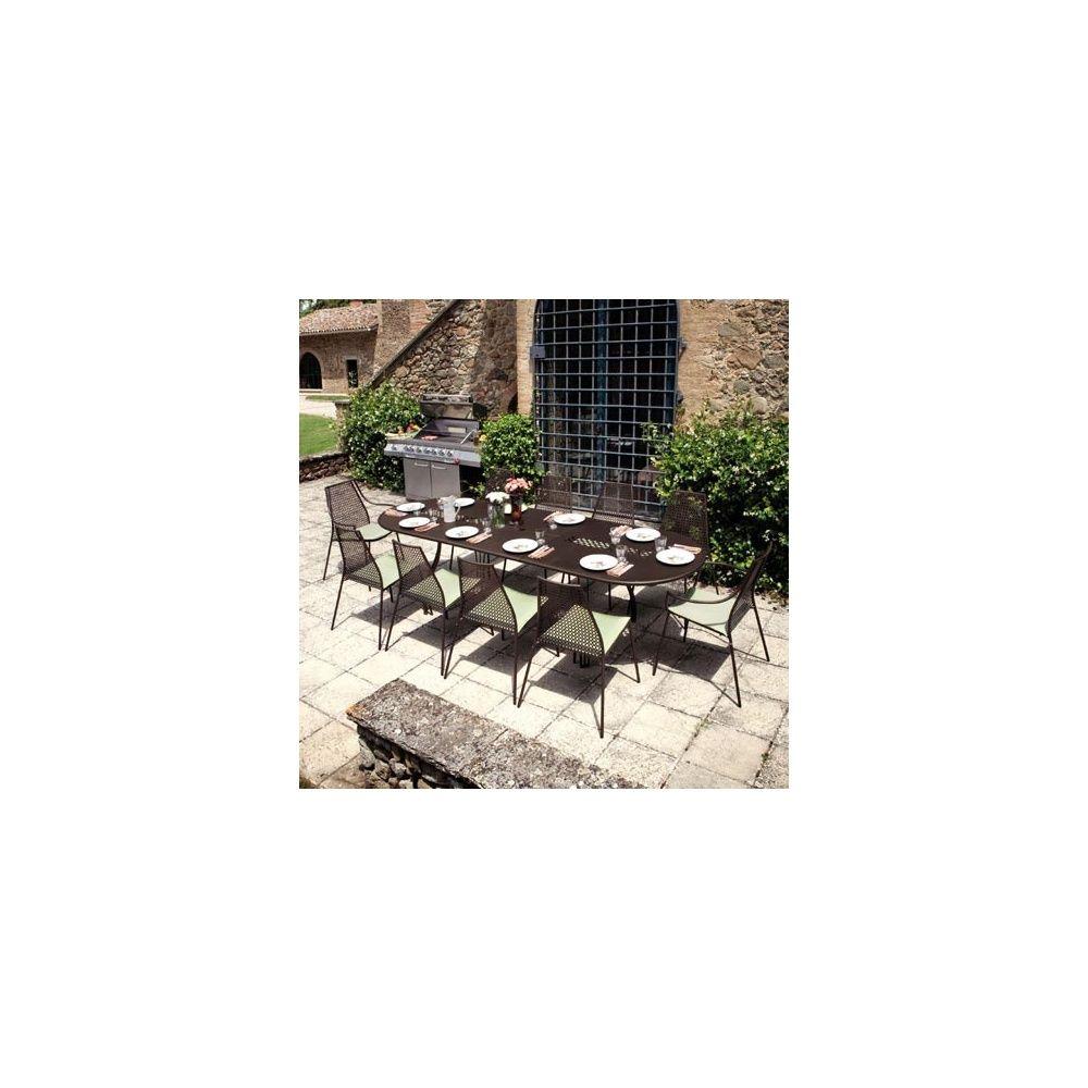 Table De Jardin Vera Ovale Extensible 230 70 X 100 X 75