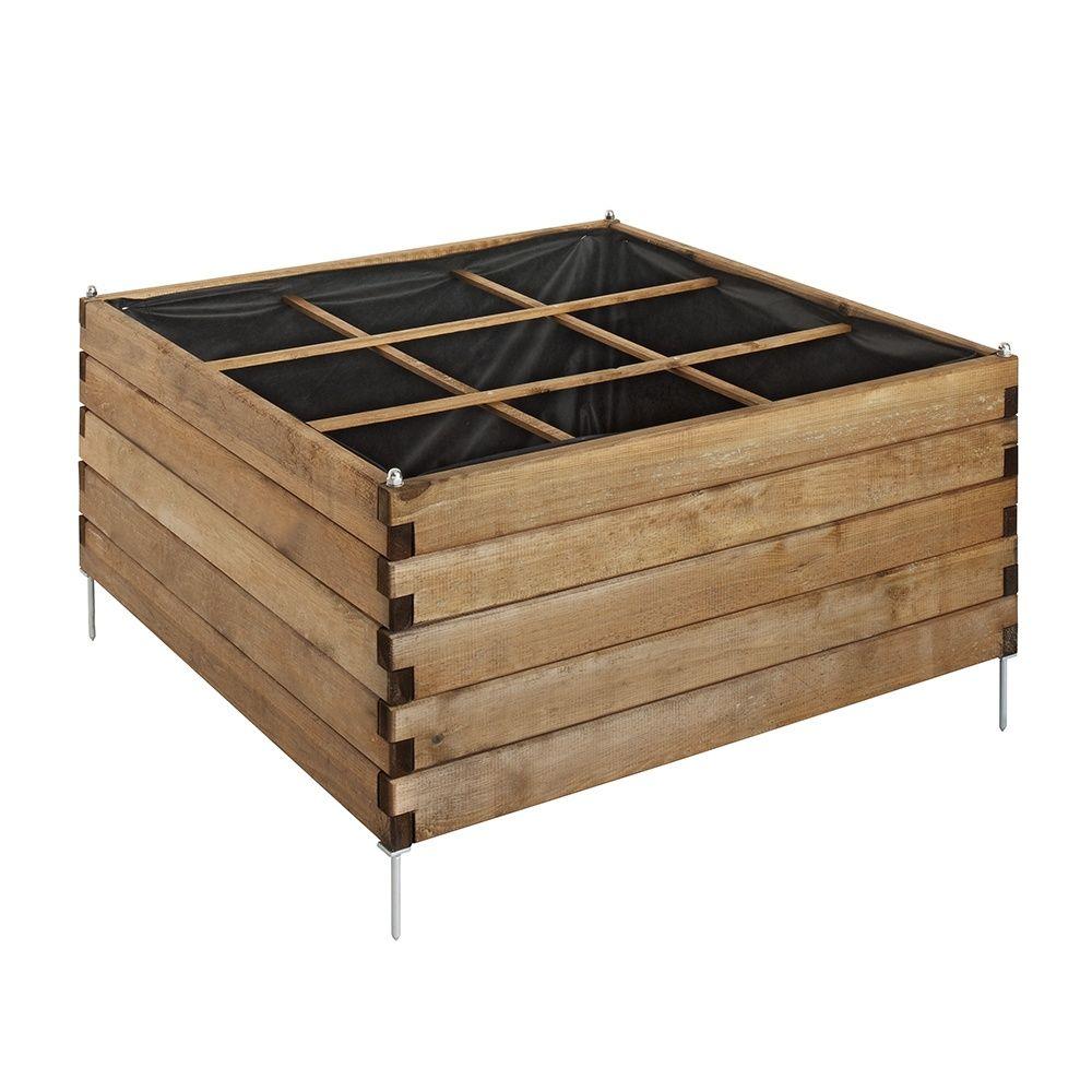 carr potager estragon 90 x 90 cm plantes et jardins. Black Bedroom Furniture Sets. Home Design Ideas