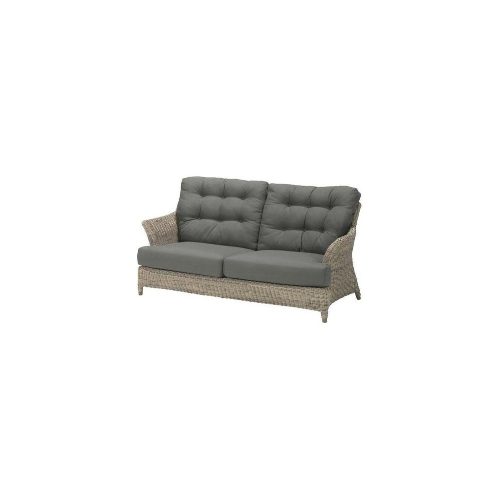 canap 2 places et demi valentine fibre hularo avec coussins 4so pure plantes et jardins. Black Bedroom Furniture Sets. Home Design Ideas