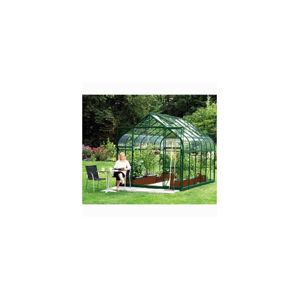 serre de jardin diana 9 85m2 3 83 x 2 57m verre horticole lams plantes et jardins. Black Bedroom Furniture Sets. Home Design Ideas