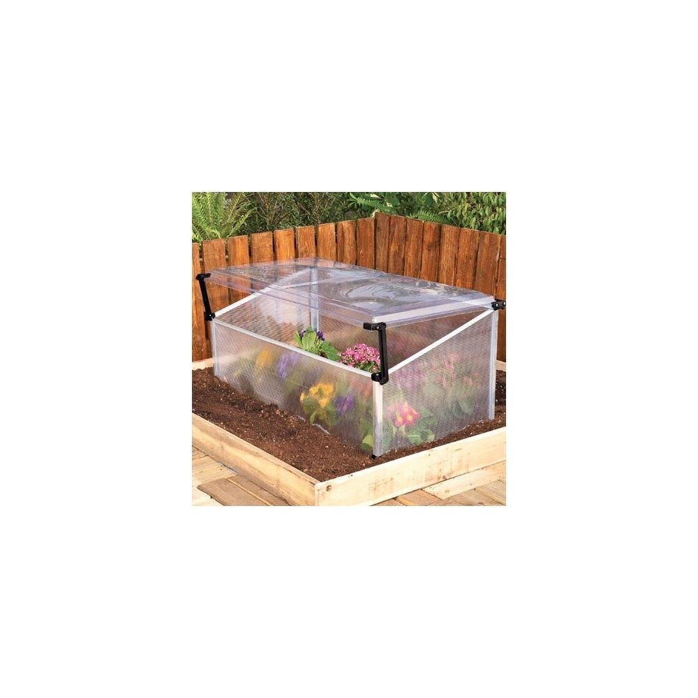 Serre ch ssis simple en polycarbonate plantes et jardins - Chassis de jardin en polycarbonate ...